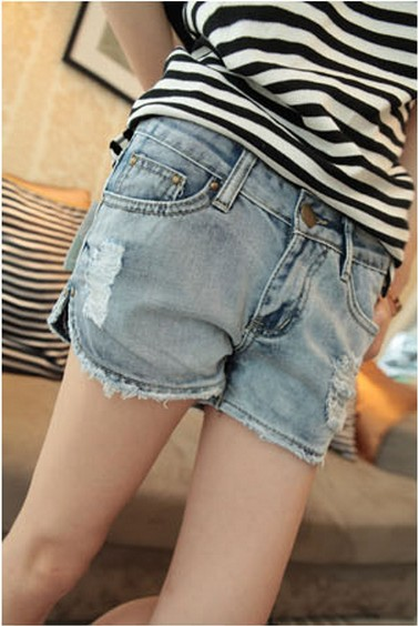 Quần short denim